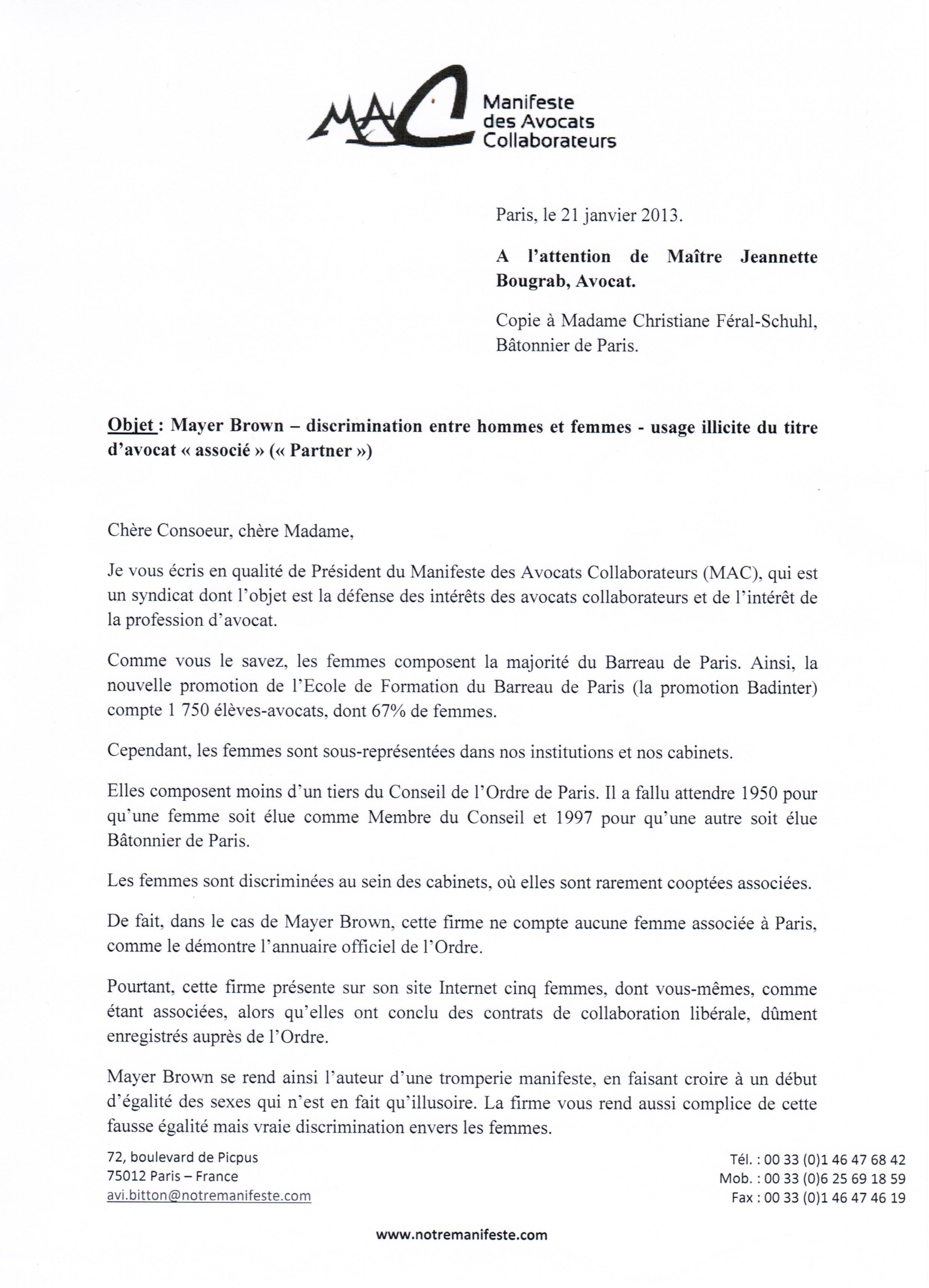 admin | Le Manifeste des Avocats Collaborateurs | Page 2