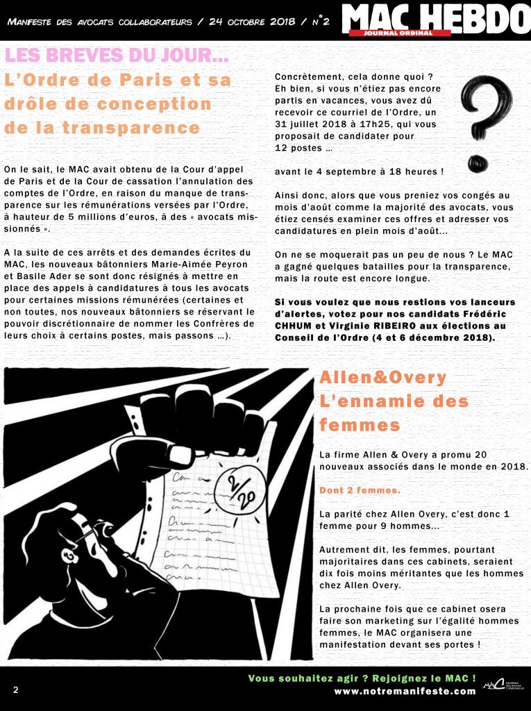 MAC HEBDO - page 2