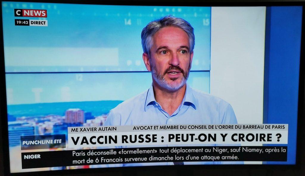 Autain C News vaccin russe